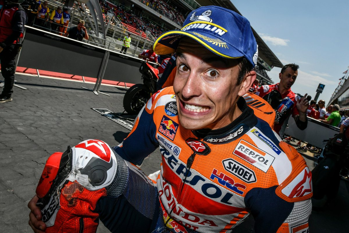 Saturday MotoGP Summary at Catalunya: Making Magic Saves, Mr. Unbeatable, & Choosing Tires at the Test